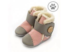 liliputi soft paws booties pearl 5659