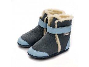 liliputi soft soled booties tundra 4849