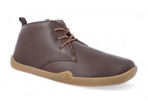 barefoot zimni obuv blifestyle classicstyle bio nappa wool brown 4