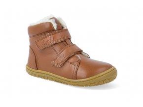 barefoot zimni obuv lurchi nik nappa cognac 4