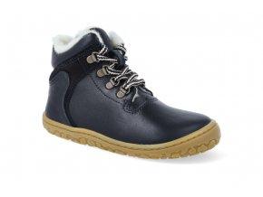 barefoot zimni obuv lurchi nesti nappa navy 4
