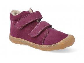 barefoot zimni obuv ricosta pepino crusty fuchsia m 2 12236 362 2