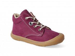 Barefoot zimní obuv Ricosta - Pepino Corany Fuchsia W