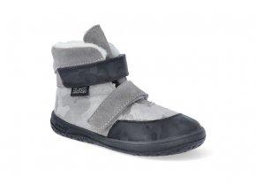 barefoot zimni obuv s membranou jonap jerry seda maskac J JERRY SED MAS 2