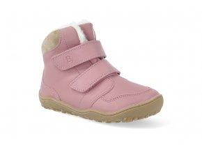 barefoot zimni obuv blifestyle gibbon wool rose BN2123XW61 2