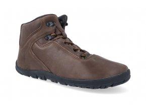 barefoot kotnikova obuv freet ibex brown FR 2054 2