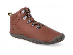 barefoot kotnikova obuv freet mudee tan brown FR2037 2