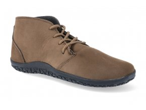 barefoot kotnikova obuv freet richmond cofee brown FR2061 2
