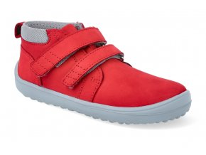 barefoot kotnikova obuv be lenka play red BE L PLAY RED 2