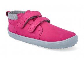 barefoot kotnikova obuv be lenka play dark pink BE L PLAY DARK PINK 4
