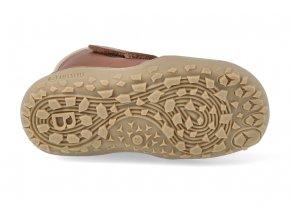Barefoot zimní obuv s membránou bLIFESTYLE - Gibbon BIO TEX wool walnuss