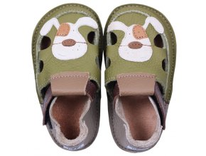 Barefoot sandálky Tikki shoes - Smiley Puppy