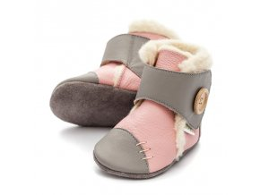 liliputi soft soled booties pearl 3205