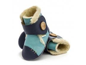 Barefoot zimní capáčky Liliputi® - North Sea