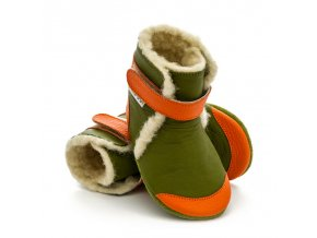 liliputi soft soled booties jungle 3218