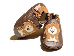 liliputi soft baby shoes protector lions 3009