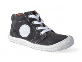 kotnikova obuv filii barefoot schnurer graphit m 3