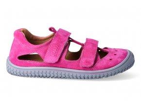 Barefoot sandálky Filii - Klett Pink W