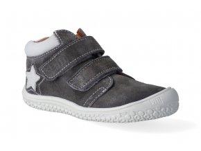 kotnikova obuv filii barefoot klett graphit star m 2