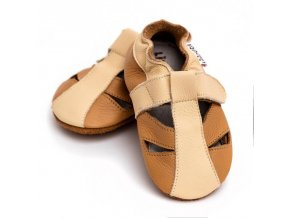 liliputi soft baby sandals peanut butter 3410