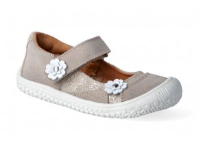filii barefoot baleriny platino flower klett m 2