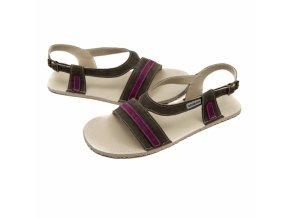 Barefoot sandálky Zeazoo - ANEMONE Gray