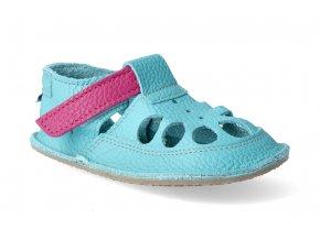 baby bare shoes io flower letni 3