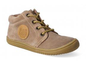 kotnikova obuv filii barefoot gecko laces cognac m 3