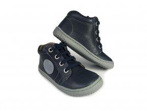 Kotníková barefoot obuv Filii - Gecko Laces Nappa Ocean M