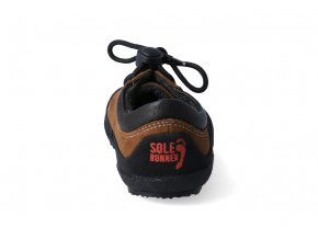 Barefoot tenisky Sole Runner - Pan Brown/Black