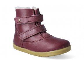 zimni obuv s membranou bobux aspen boot plum 2
