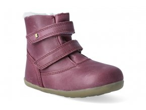 zimni obuv bobux aspen winter boot plum step up 3
