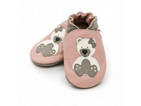 Barefoot capáčky Liliputi® - Polar Teddy