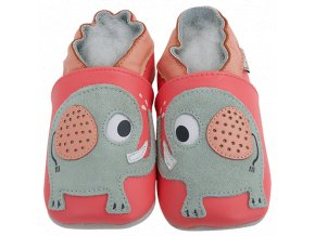 Chaussons cuir Elephant Front