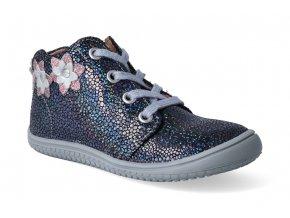 kotnikova obuv filii barefoot gecko laces ocean glitter m 3