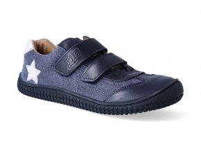 Barefoot tenisky Filii - Leguan Nappa/Textile Ocean M