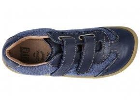 Barefoot tenisky Filii - Leguan Nappa/Textile Ocean W