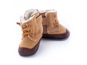 Barefoot zimní obuv Jack & Lily - Bo