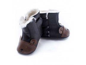 Zimní barefoot obuv Jack & Lily - Roland