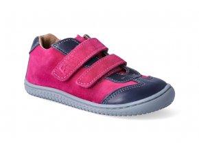 filii barefoot leguan velcro nappa velours ocean pink m 3