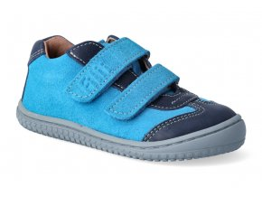 filii barefoot leguan velcro nappa velours ocean turquoise m 3