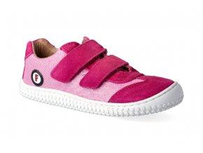 19941 6 leguan velcro velours textile pink 3