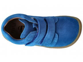 Filii Barefoot CHAMELEON velcro velours electric blue M