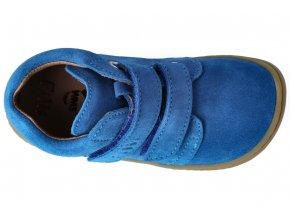 Filii Barefoot CHAMELEON velcro velours electric blue M