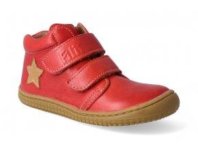 filii barefoot kotnikova obuv chameleon velcro nappa tomato m 2