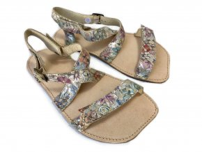 ORTO+ Barefoot sandály - barevné 011