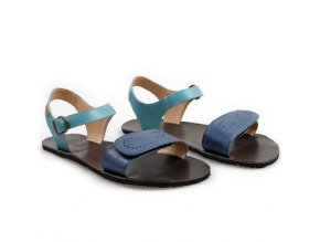 vibe barefoot women s sandals infinity blue in stock 5444 4