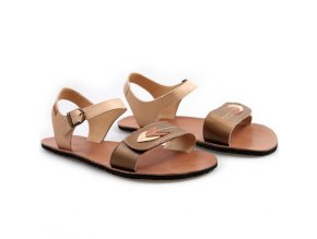 vibe barefoot women s sandals browny leaves in stock 5579 4