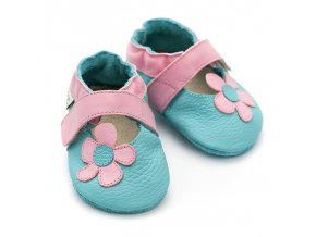 liliputi soft baby sandals kalahari turquoise 2724