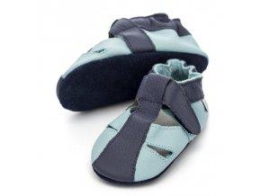 liliputi soft baby sandals sky 3037